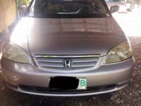 Honda Civic 2001 Manual Gasoline for sale in Angat