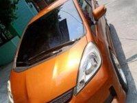 Orange Honda Jazz 2013 Automatic Gasoline for sale in Teresa