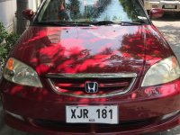 2003 Honda Civic Automatic Gasoline for sale