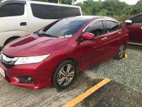 Red Honda City 2017 Sedan at 42000 km for sale