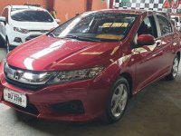 Red Honda City 2017 at 15411 km for sale