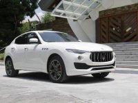 Selling White Maserati Levante 2017 in Quezon City
