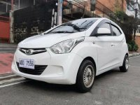 Sell White 2016 Hyundai Eon at 28000 km