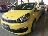 Sell Yellow 2017 Kia Rio in Quezon City