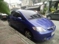 Selling Blue Honda City 2005 Automatic Gasoline at 150000 km