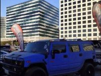 Sell Blue 2014 Hummer H2 at 20000 km