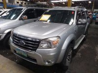 Selling Silver Ford Everest 2010 at 66122 km