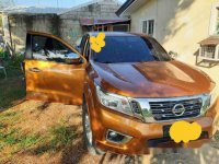 Sell Orange 2015 Nissan Navara Automatic Diesel