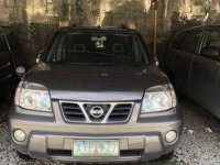Selling Grey Nissan X-Trail 2005 at 110000 km