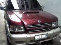 Selling Red Isuzu Trooper 2000 Automatic Diesel at 250000 km