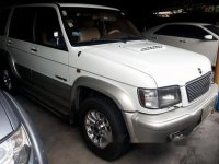 Selling White Isuzu Trooper 2002 Automatic Diesel