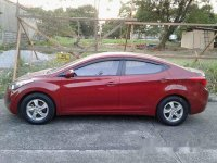 Red Hyundai Elantra 2013 for sale Quezon City