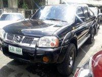 Black Nissan Frontier 2003 for sale in Quezon City