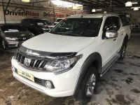 Selling Mitsubishi Strada 2017 Manual Diesel