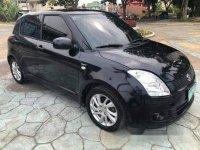 Black Suzuki Swift 2009 Manual Gasoline for sale in Talisay