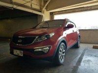 Selling Red Kia Sportage 2015 at 20000 km