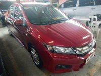 Sell Red 2017 Honda City Automatic Gasoline at 15000 km