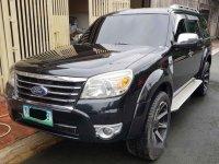 Black Ford Everest 2010 at 83000 km for sale