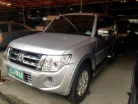 Silver Mitsubishi Pajero 2012 for sale in Pasig