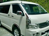 Sell White 2009 Toyota Hiace Automatic Diesel at 90000 km