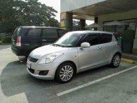 Sell Silver 2014 Suzuki Swift Manual Gasoline at 68000 km