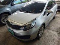 Selling Silver Kia Rio 2013 Manual Gasoline at 34000 km