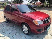 Red Suzuki Alto 2012 for sale Talisay