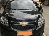 Black Chevrolet Orlando 2012 at 27000 km for sale