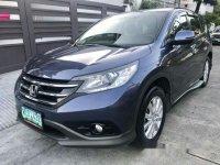 Blue Honda Cr-V 2013 Automatic for sale