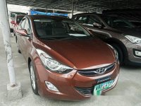 Brown Hyundai Elantra 2013 for sale in Las Pinas