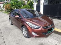 Sell Brown 2013 Hyundai Elantra Automatic Gasoline at 90000 km