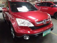 Selling Red Honda Cr-V 2009 Automatic Gasoline at 77615 km