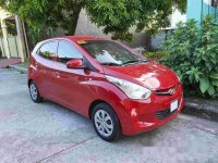 Sell Red 2016 Hyundai Eon Manual Gasoline at 30000 km
