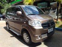 Brown Suzuki Apv 2014 at 53806 km for sale