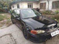 Black Honda Civic 1994 at 199 km  for sale in Manila