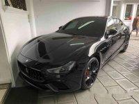 Selling Black Maserati Ghibli 2019 Automatic Gasoline at 350 km