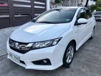 White Honda City 2017 at 30000 km for sale