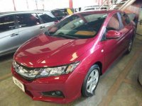 Red Honda City 2017 for sale in Quezon City