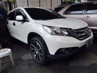 White Honda Cr-V 2012 for sale in Quezon City