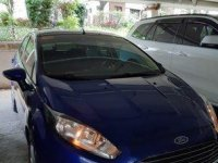 Blue Ford Fiesta 2014 Automatic Gasoline for sale