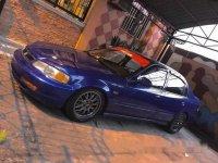 Selling Blue Honda Civic 1996 at 100000 km