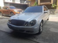 Silver Tata E220 2002 Automatic Gasoline for sale