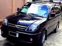 Black Mitsubishi Adventure 2010 Manual Diesel for sale