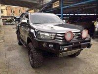 Selling Grey Toyota Hilux 2016 Manual Diesel
