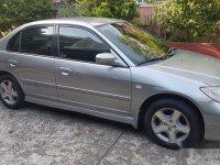 Sell Silver 2004 Honda Civic Automatic Gasoline at 131000 km