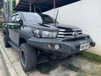 Black Toyota Hilux 2016 for sale in Quezon City