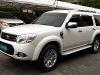 Selling White Ford Everest 2013 in Antipolo