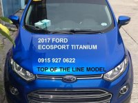 Sell Blue 2017 Ford Ecosport in Dasmariñas
