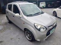 Silver Suzuki Alto 2014 for sale in Quezon City