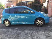 Selling Blue Honda Fit 2010 at 65000 km